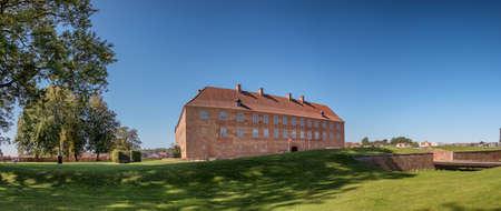 Old castle in Soenderborg in South Jutland, Denmark Stock fotó