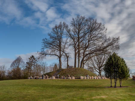 Broager ww1 monument and graves in southern part of Denmark