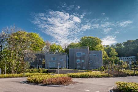 Modern cancer hospital in Vejle, Denmark