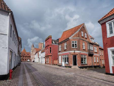 St Catharinae square in Ribe, Esbjerg Denmark