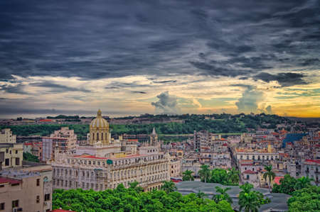 Havana panorama of the city, Cuba