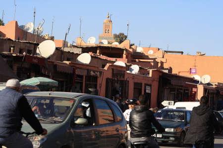 pneu: Visit in Morocco