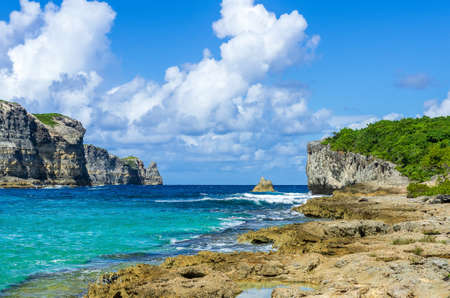 Porte d'enfer, Guadeloupe, Caribbean, France