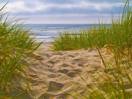 Sentier de la plage