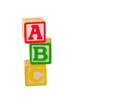 ABC Blocks Stacked Stock Photo - 4268567