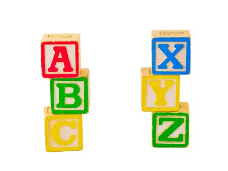 xyz: ABC n XYZ Blocks Stacked
