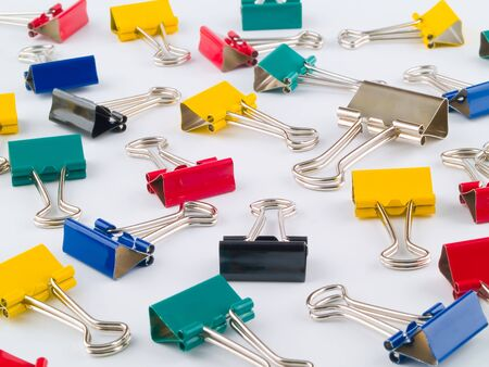 Multi Colored Binder Clips