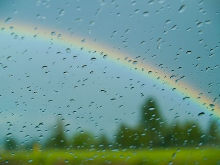 showers: Rainbow Beyond the Windshield