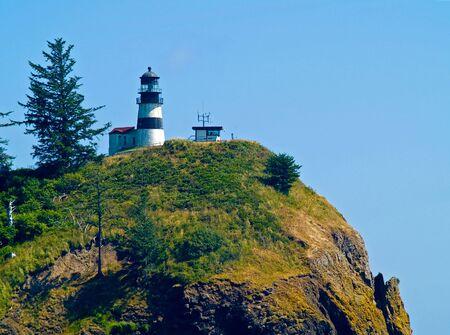 岬の失望フォート キャンビー州立公園米国ワシントン州の灯台