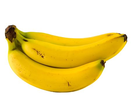 Banana isolated on a blank white background Stock Photo