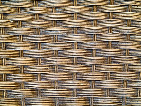 Woven wicker or chair texture for background uses Stock Photo - 6338726