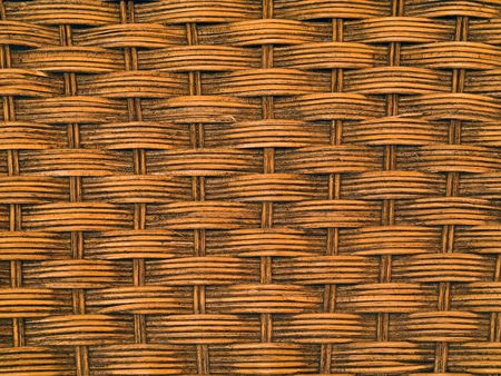 Woven wicker or chair texture for background uses photo