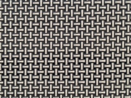 Weave Pattern Showing Repetition Useful as Background photo