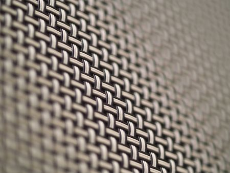perforated: Weave Pattern Showing Repetition Useful as Background