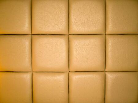 r�p�titif: Arri�re-plan de Upholstry Tan en cuir avec un motif r�p�titive