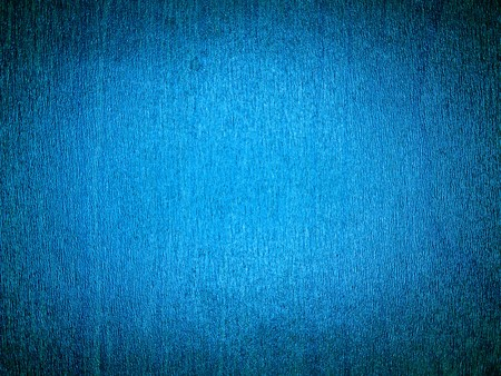 Wood Grain Background Blue with a Bright Center Stock Photo