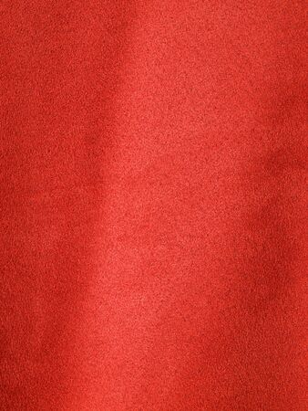Full Frame Background of Red Suede-like Fabric Stock Photo - 7948437