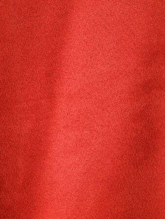 Volledige frame achtergrond van rode Suede-achtige stof