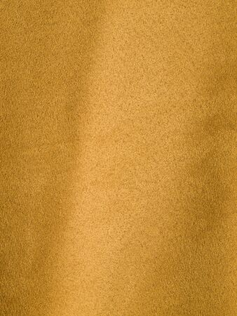 Full Frame Background of Orange Suede-like Fabric Stock Photo - 7948433