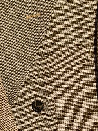 Full Frame Background of Fabric and Detail from Mens Suits photo