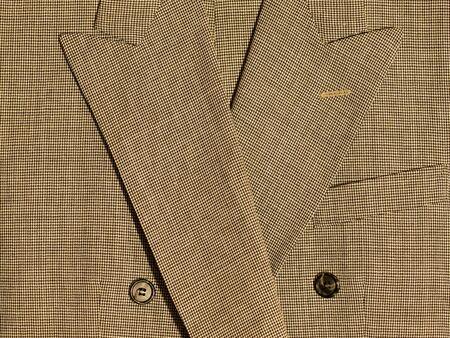 Full Frame achtergrond van stof en Detail van Mens Suits