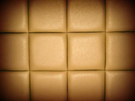 r�p�titif: Tan cuir entrelac�s fond avec un motif r�p�titif et une bordure sombre