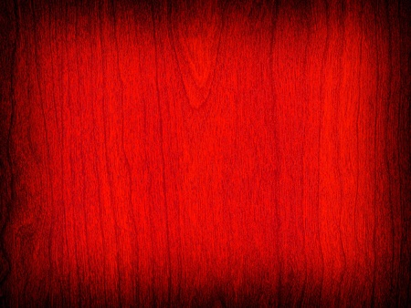 Wood Grain Background in a Deep Red Color with Dark Border