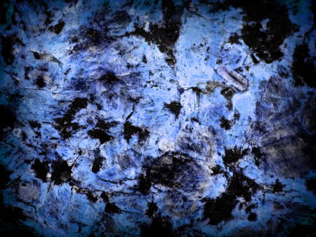 Black and Blue Colored Marble Surface Texture with Dark Border Stock Photo - 8784456