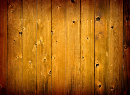 Natural Stained Wooden Background with Dark Border Foto de archivo