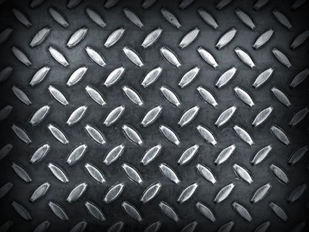 metal grid: Diamond Gray Toned Metal Background Texture with Dark Edge