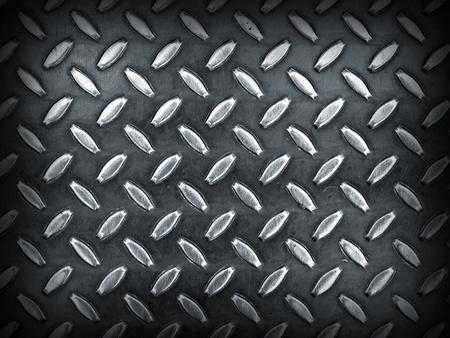 Diamond Gray Toned Metal Background Texture with Dark Edge