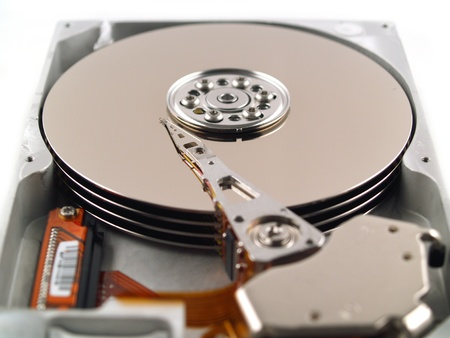 Computer Parts such as Circuit Boards, Memory Chips, CPU and Hard Disk Stock Photo - 9565321