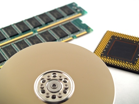 data recovery: Computer Parts such as Circuit Boards, Memory Chips, CPU and Hard Disk