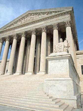 The United States Supreme Court in Washington DC photo
