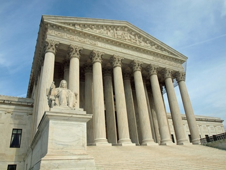 The United States Supreme Court in Washington DC Stock Photo - 9815393