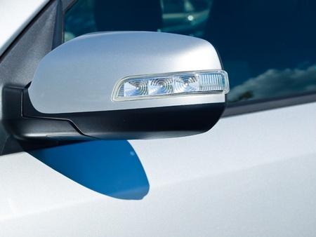 Close Up of a New Car Headlight 写真素材