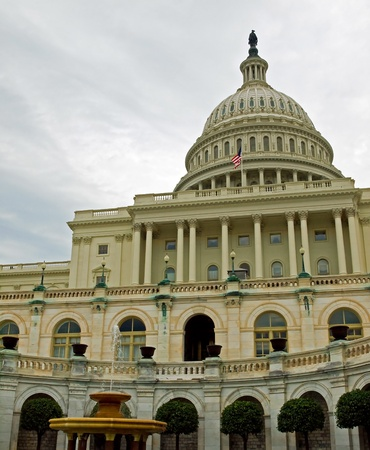 United States Capitol Building and Fountain in Washington DC Stock Photo - 10005813