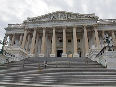 Details van de Verenigde Staten Capitol Building in Washington DC