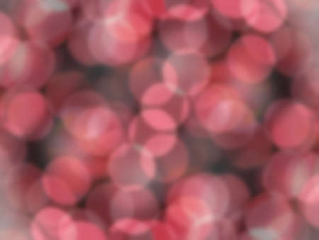 Red Bokeh Christmas Tree Lights Abstract for Backgrounds photo