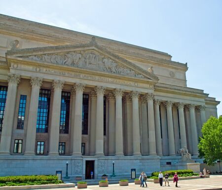National Archives of the United States in Washington DC