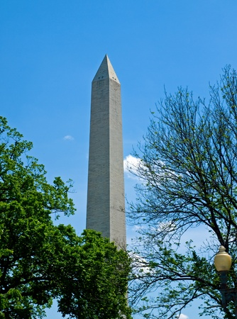 The Washington Monument at Springtime in Washington DC Stock Photo - 15014290