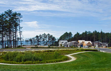 Fancy Homes Nestled in a Beach Front Community photo