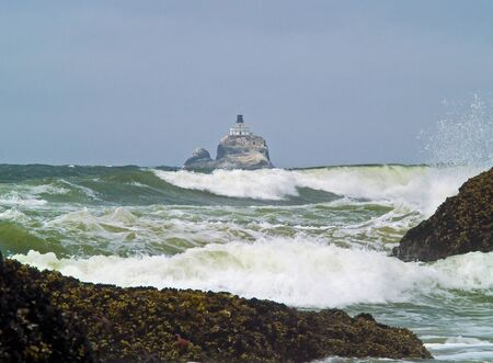 nicknamed: Offshore lighthouse on the Oregon Coast nicknamed Terrible Tilly