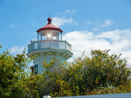 The Lighthouse at Mukilteo in Washington State USA photo