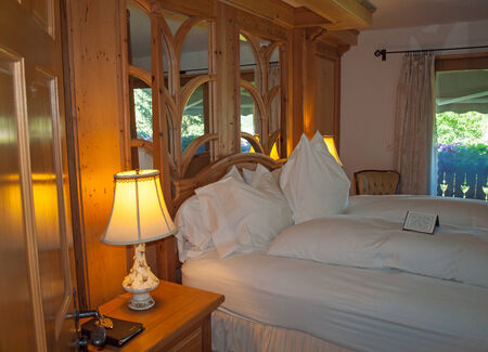 Romantic Bedroom at a Country BnB