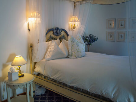 country house style: Romantic Bedroom at a Country BnB