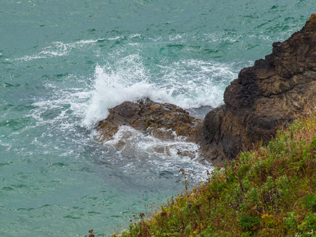 Ocean Overlook from Ecola State Park Oregon USA photo