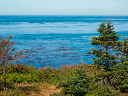 View from Admiralty Head Lighthouse on Whidbey Island WA USA