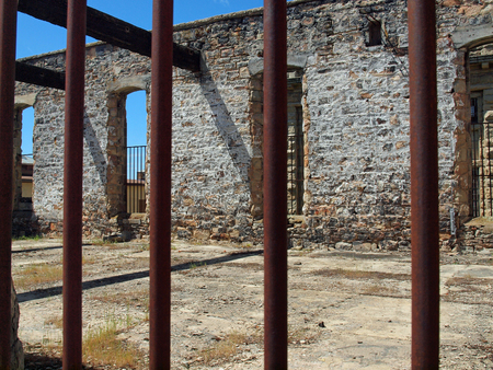 Old Idaho State Penitentiary in Boise Idaho USA Editorial