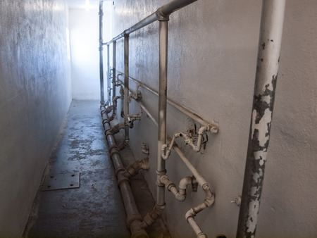 pokey: Interior of an Historic State Penitentiary in Boise Idaho USA